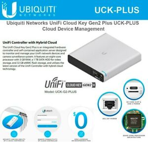Ubiquiti UniFi Cloud Key Gen2 Plus (UCK-G2-PLUS)