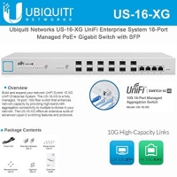 Ubiquiti UniFi Switch 16 XG (US-16-XG)